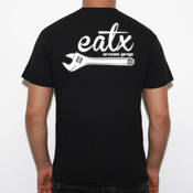 eatx - Camiseta Fruit of The Loom  Valueweight